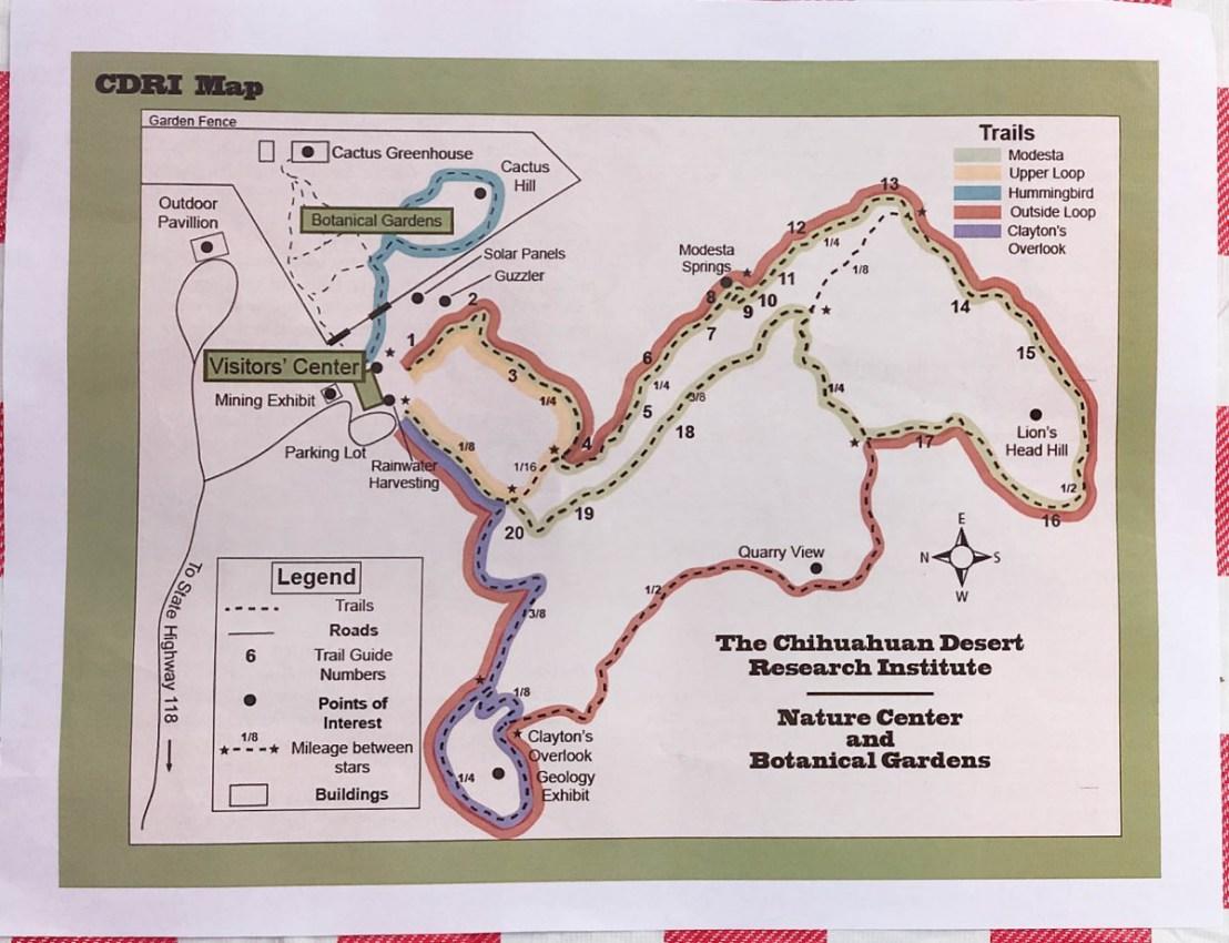 Paper CDRI Trail Map