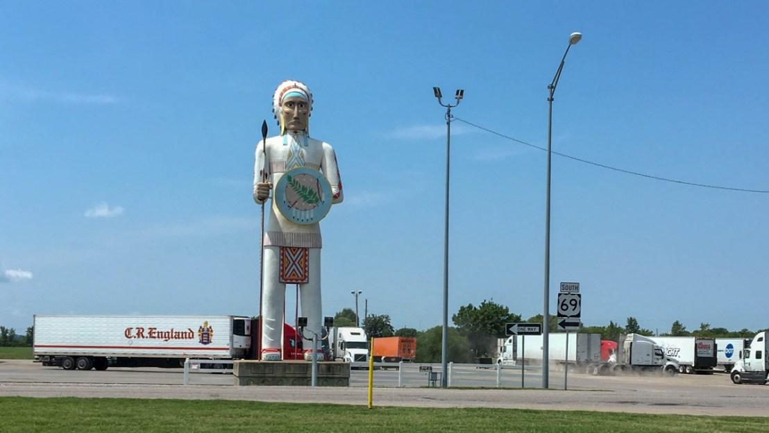 Oklahoma Truck Stop Indian
