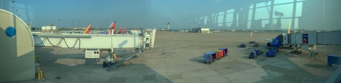 From the SWA Terminal at Lambert Airport