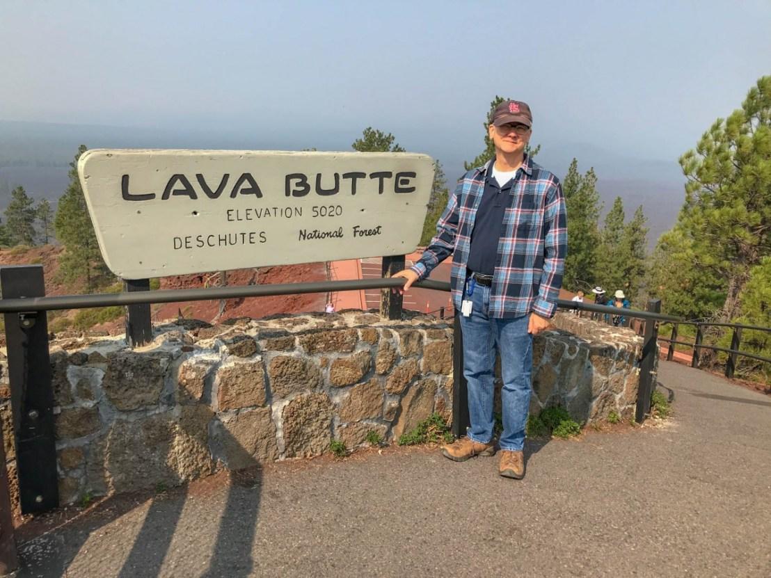 Lava Butte Elevation 5020 Deschutes National Park