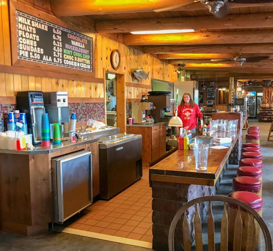 Rustic Dining Room at Cultus Lake Resort