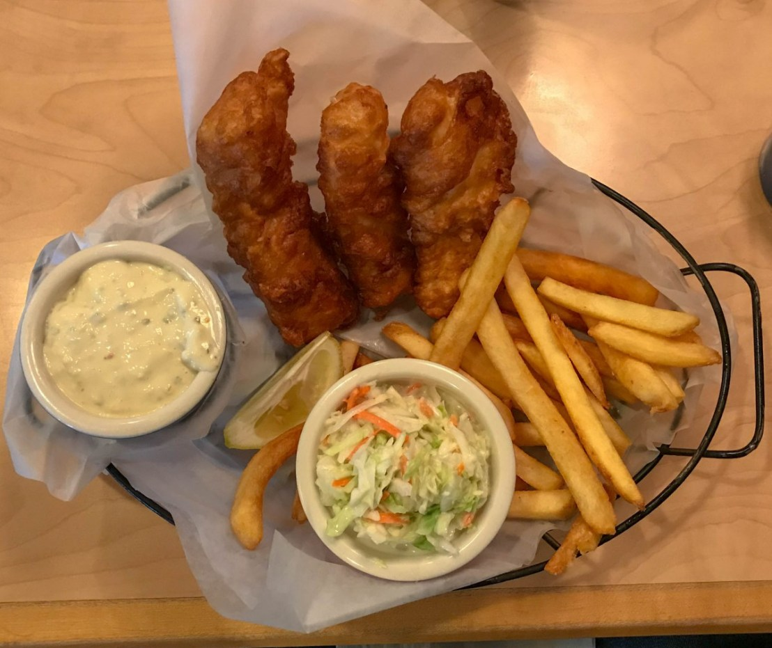 Beer-Batter Fish & Chips
