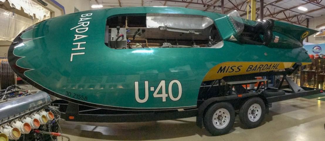 U-40 Miss Bardahl