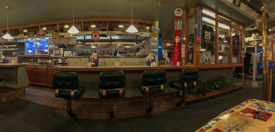 Lunch Counter at Dave's Diner