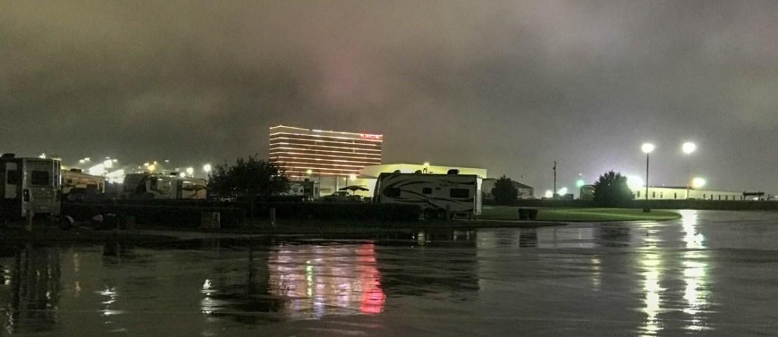 Durant Choctaw Casino at Night