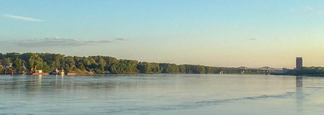 I-70 Bridges Across Missouri River At St. Charles Missouri