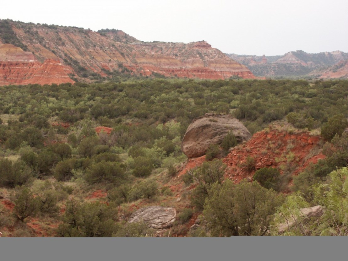 Palo Duro Canyon State Park in 2003