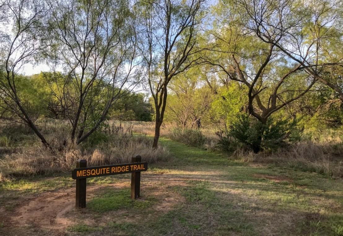 Mesquite Ridge Trail Signage