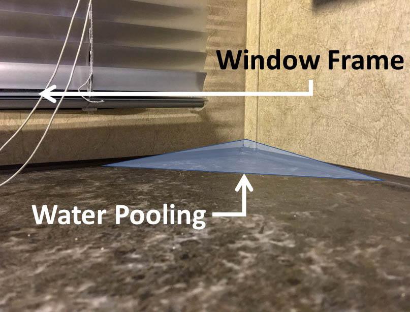Kitchen Window Water Leak