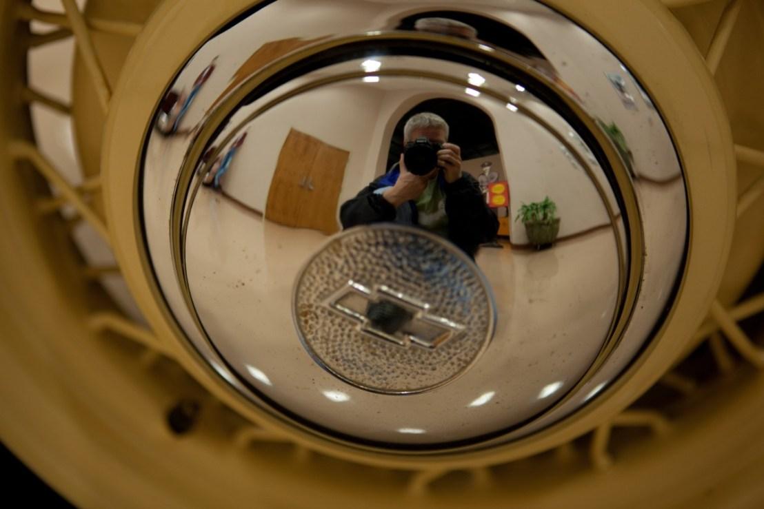 Selfie In A Car Museum