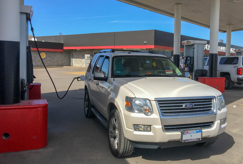 From San Antonio to St. Louis In Ford Explorer