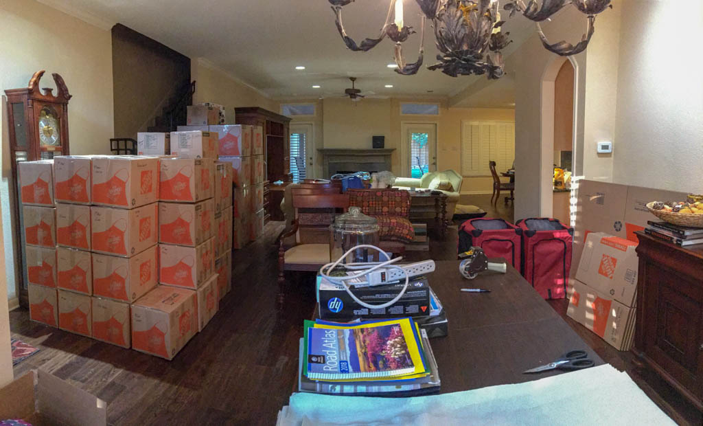 Packing Up The House