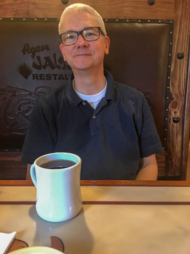 Larry @ Agave Jalisco Restaurant In Goliad Texas