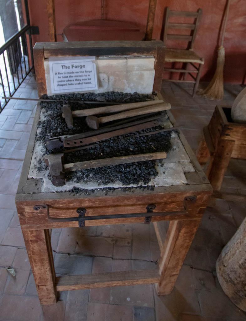Wood Framed Forge