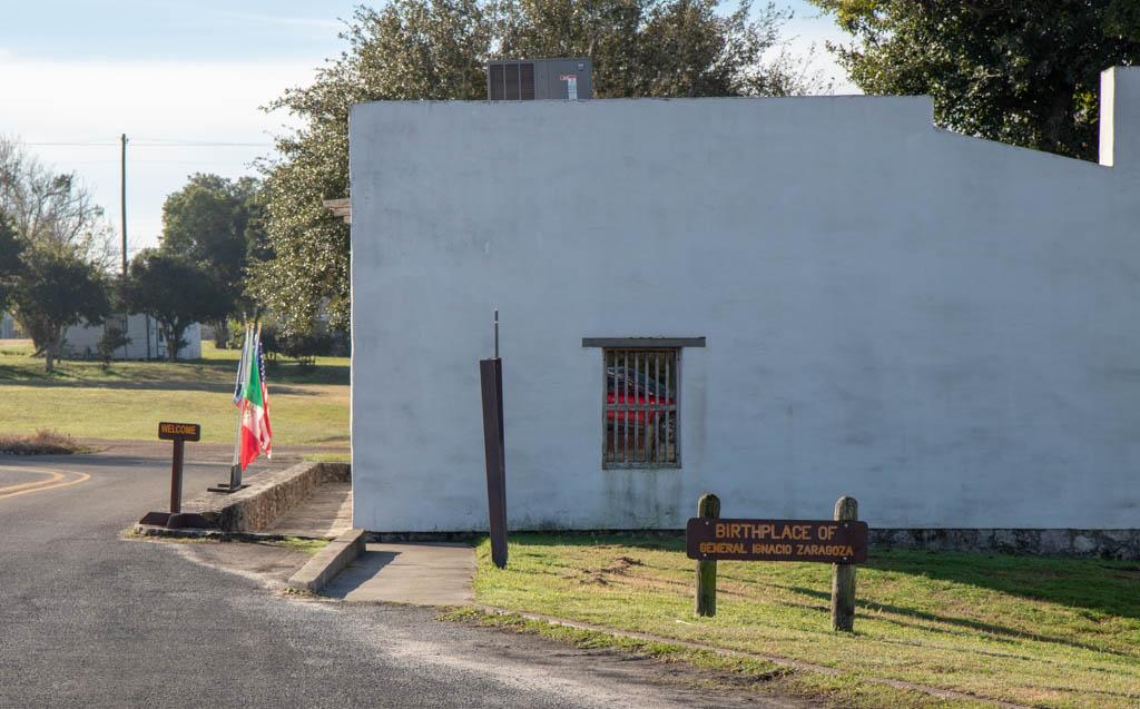 Zaragoza's Birthplace Outside Presidio La Bahia's Walls