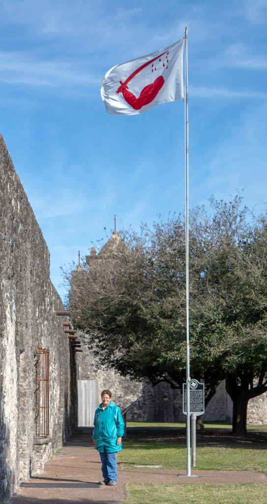 Texas Independence Flagpole