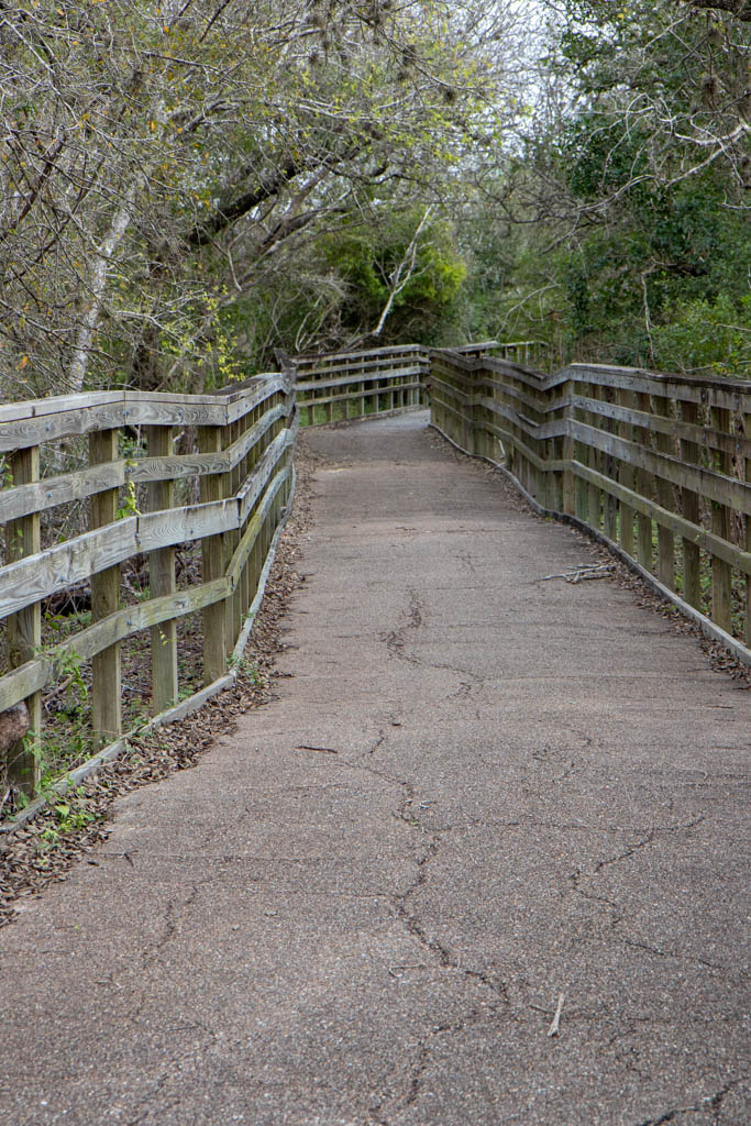 Railings Along The Trail