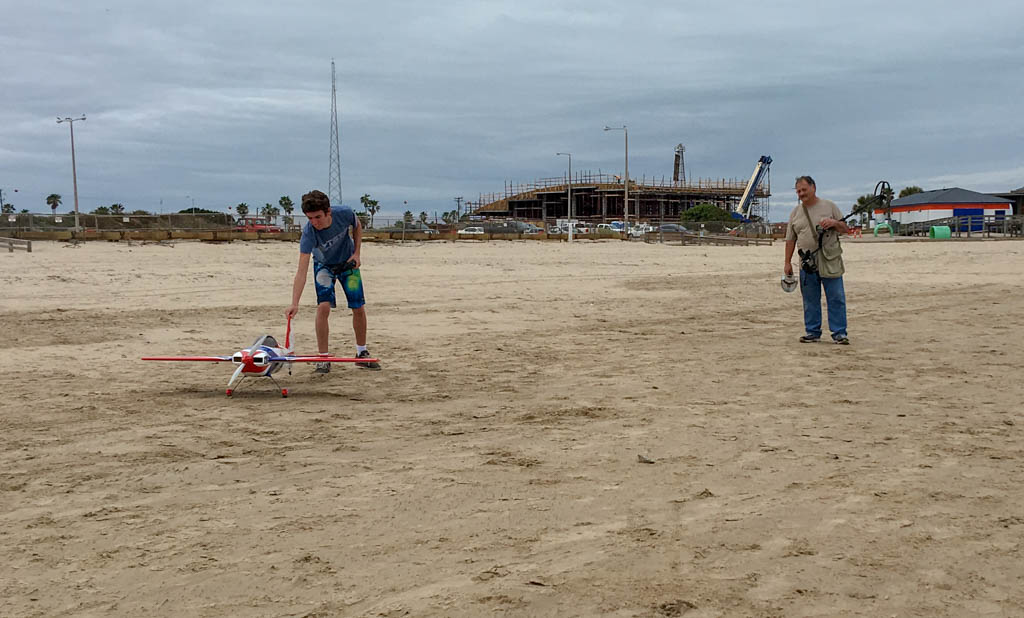 Radio Controlled Airplane and Pilot