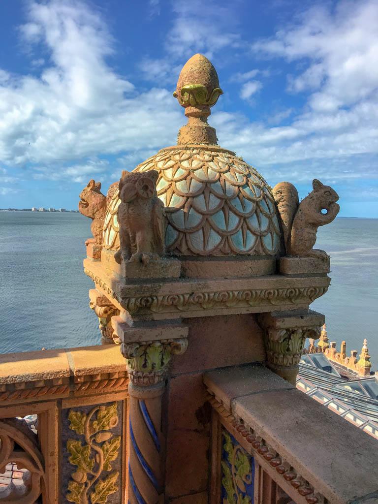 Ca'D'Zan Rooftop Balcony Detail