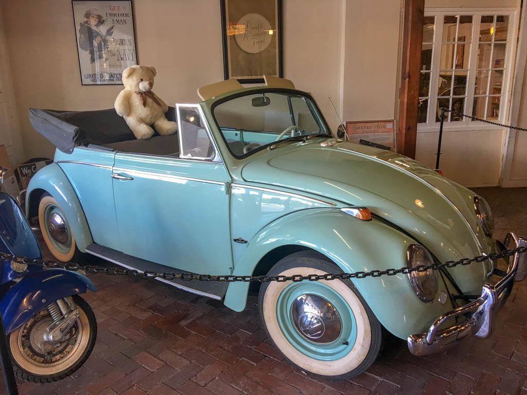 Sixties Convertible VW Bug