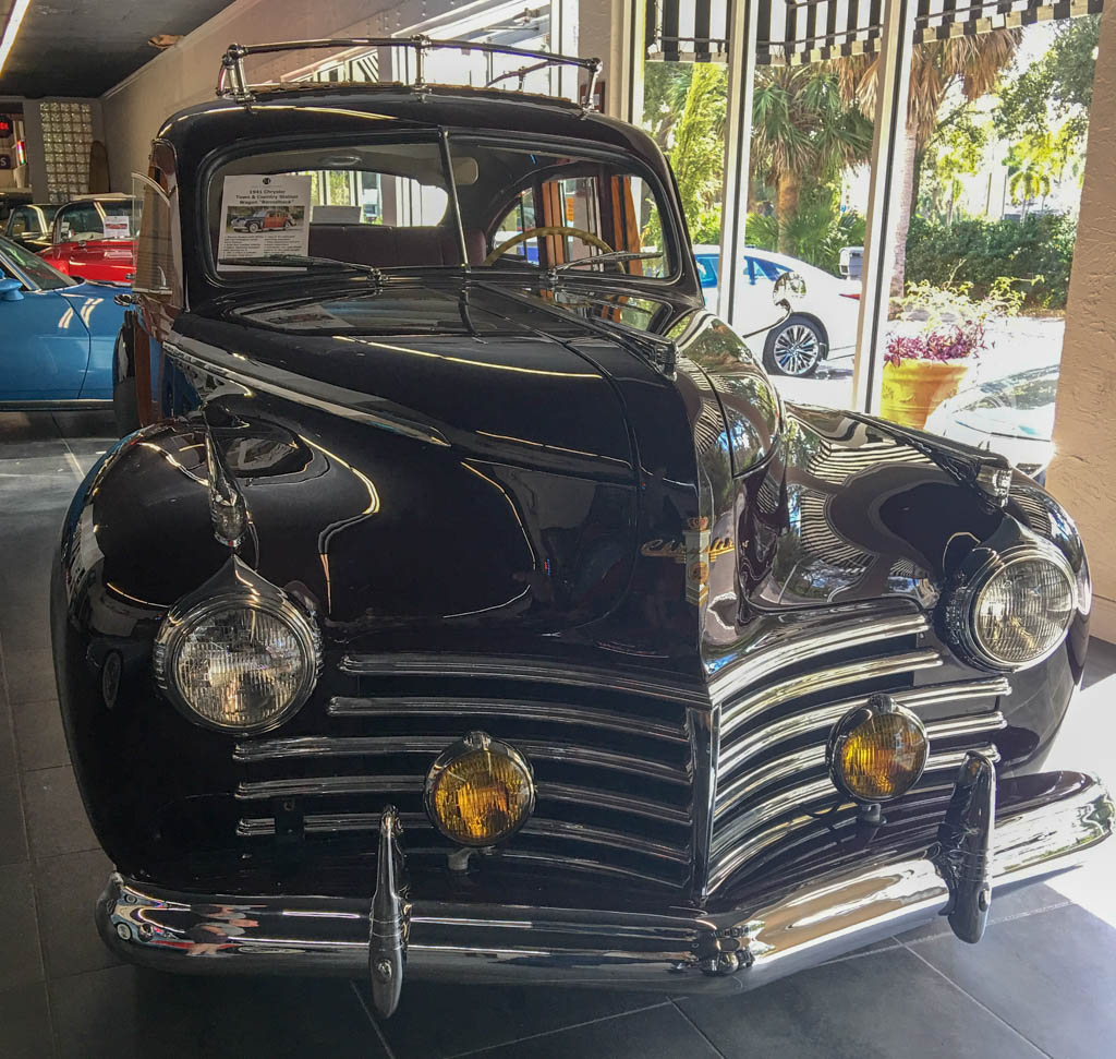 """1949 Chrysler Town and Country Station Wagon """"Barrel Back"""""""