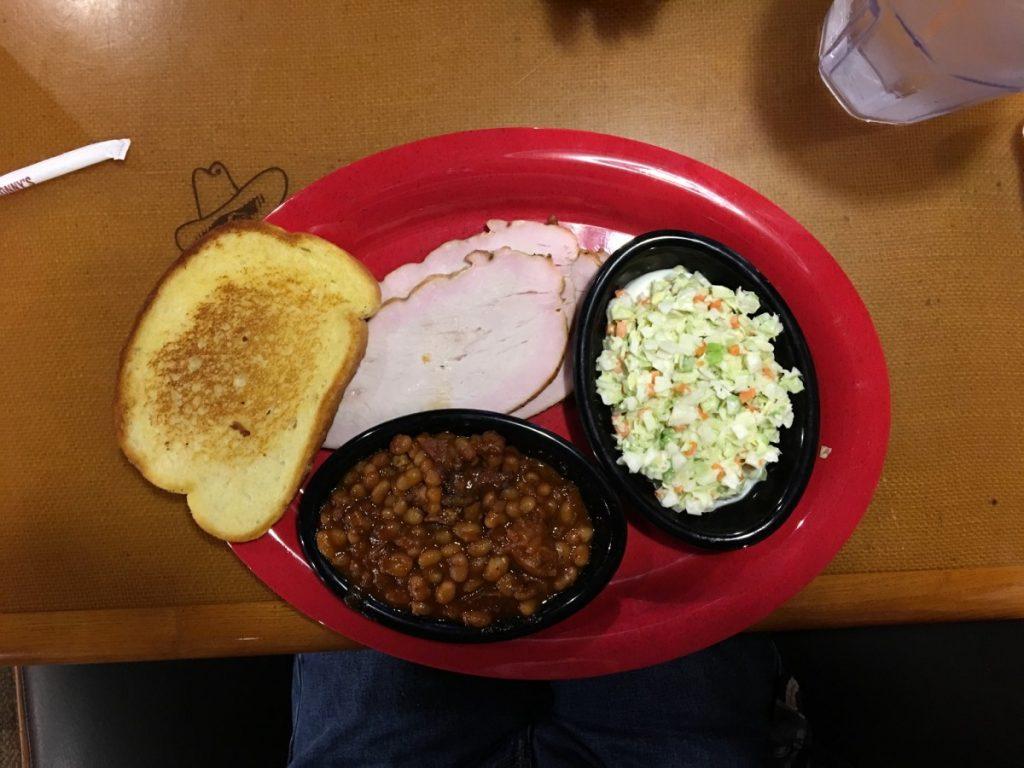 Sonny's BBQ Turkey Plate