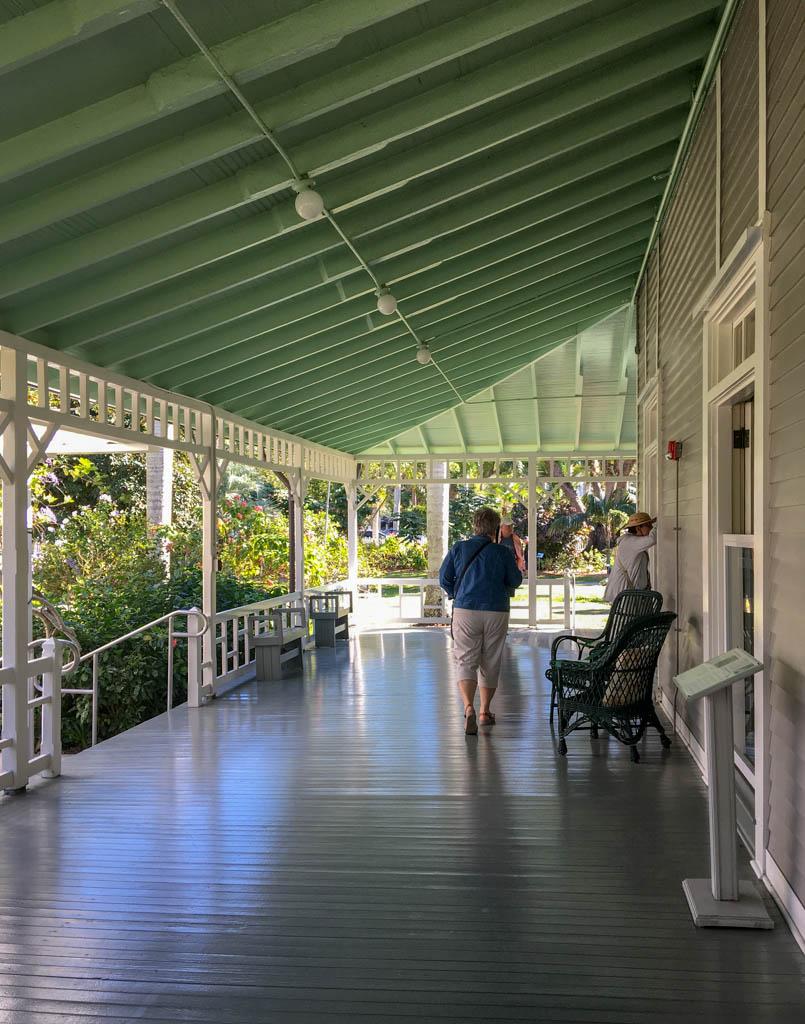 Edison Winter Home Wrap-Around Porch