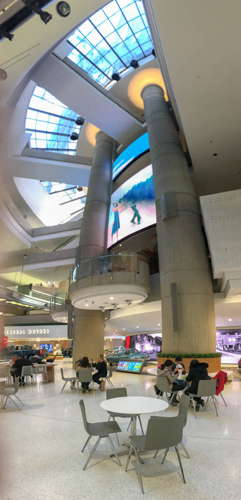 GMRENCEN Food Court Level