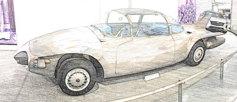 GM Firebird II Concept Car