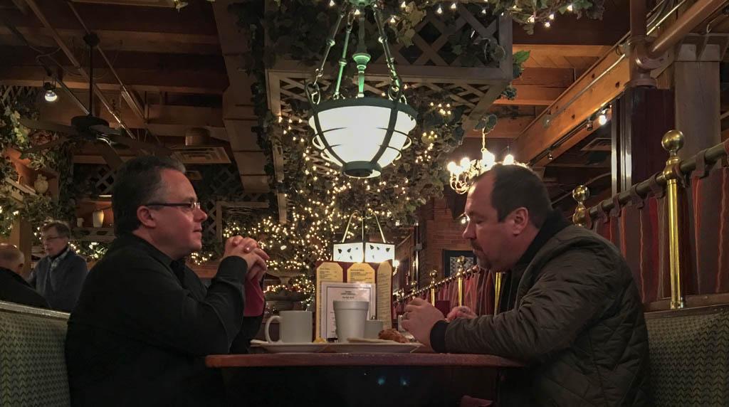Intimate Conversations At Pegasus Taverna