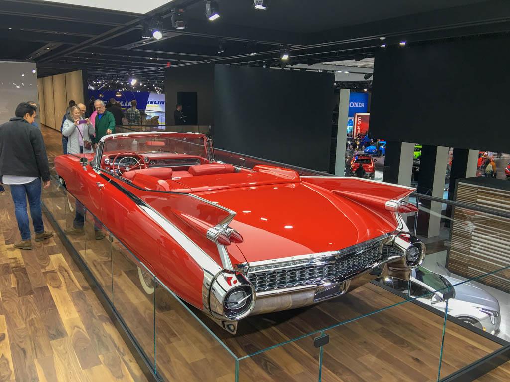 Classic Big Fin Cadillac Convertible