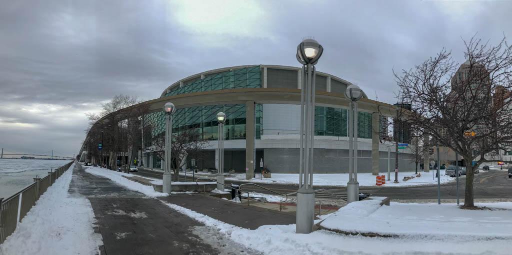 COBO Center As Seen From Riverwalk