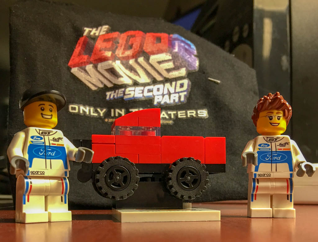 Ford and GM Souvenir Legos