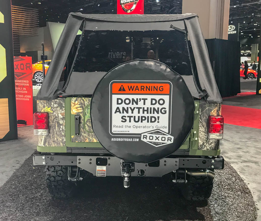 Mahindra Jeep Wrangler Lookalike