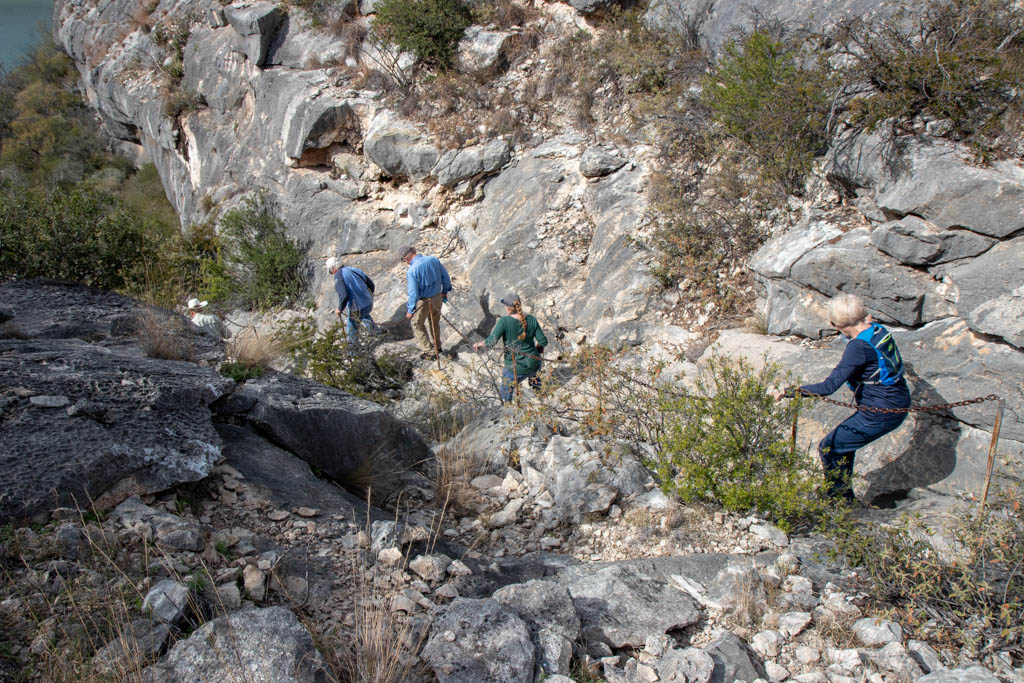 Typically Steep Trail Descents/Ascents