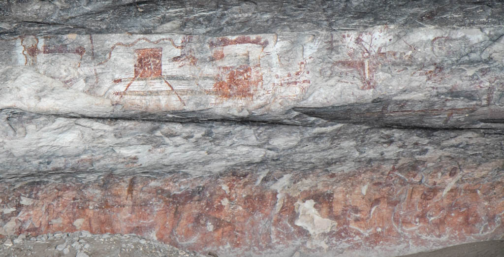 Ancient Drawing With Unknown Meaning