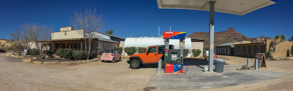 Lajitas General Store and Gas Station