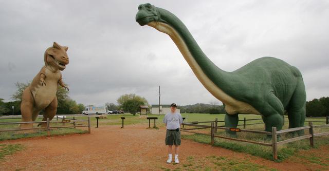 2007 Dinosaur Valley State Park Dinosaurs
