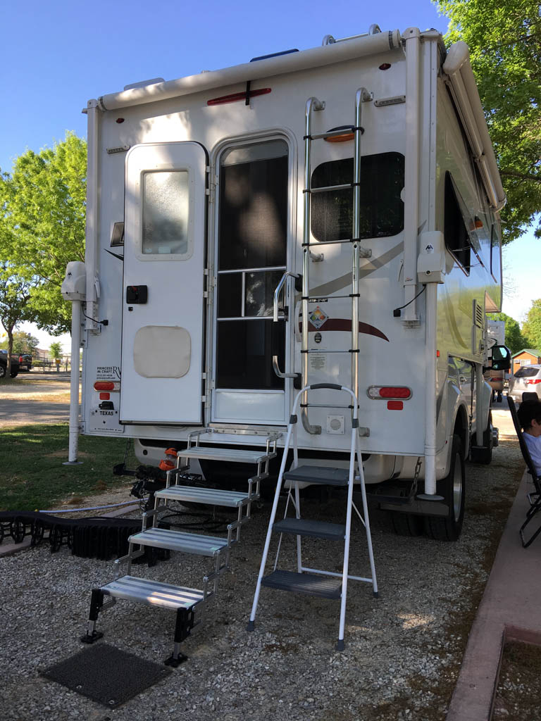 New Camper Steps