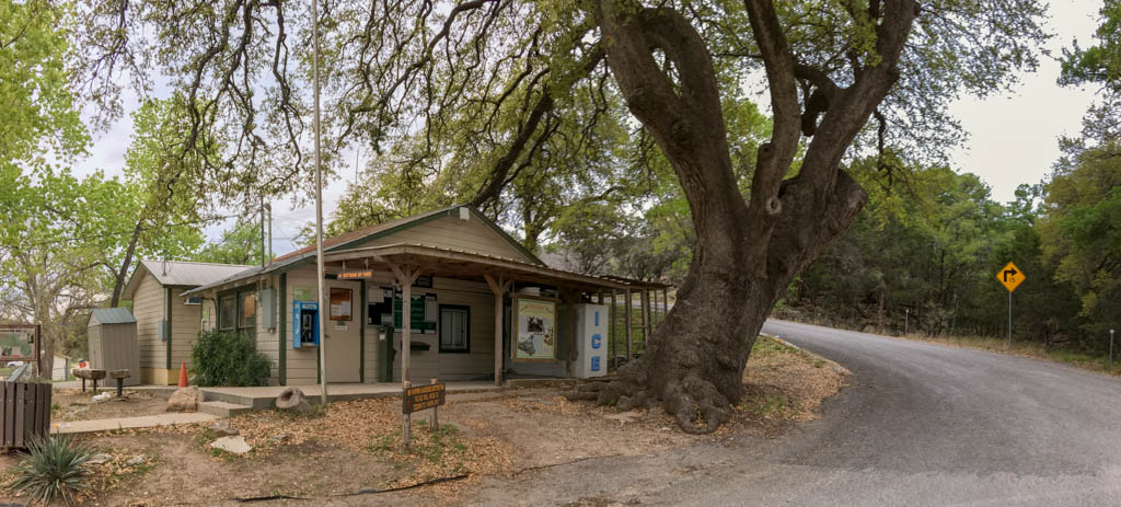 Colorado Bend State Park Ranger Station