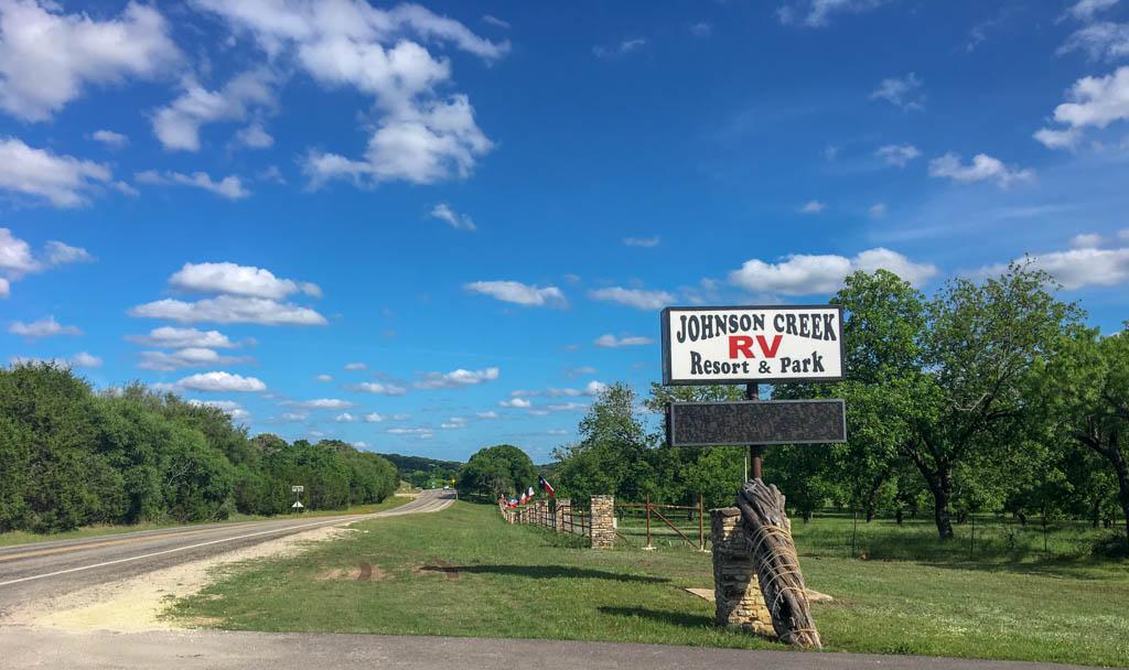 Johnson Creek Resort & RV Park Signage