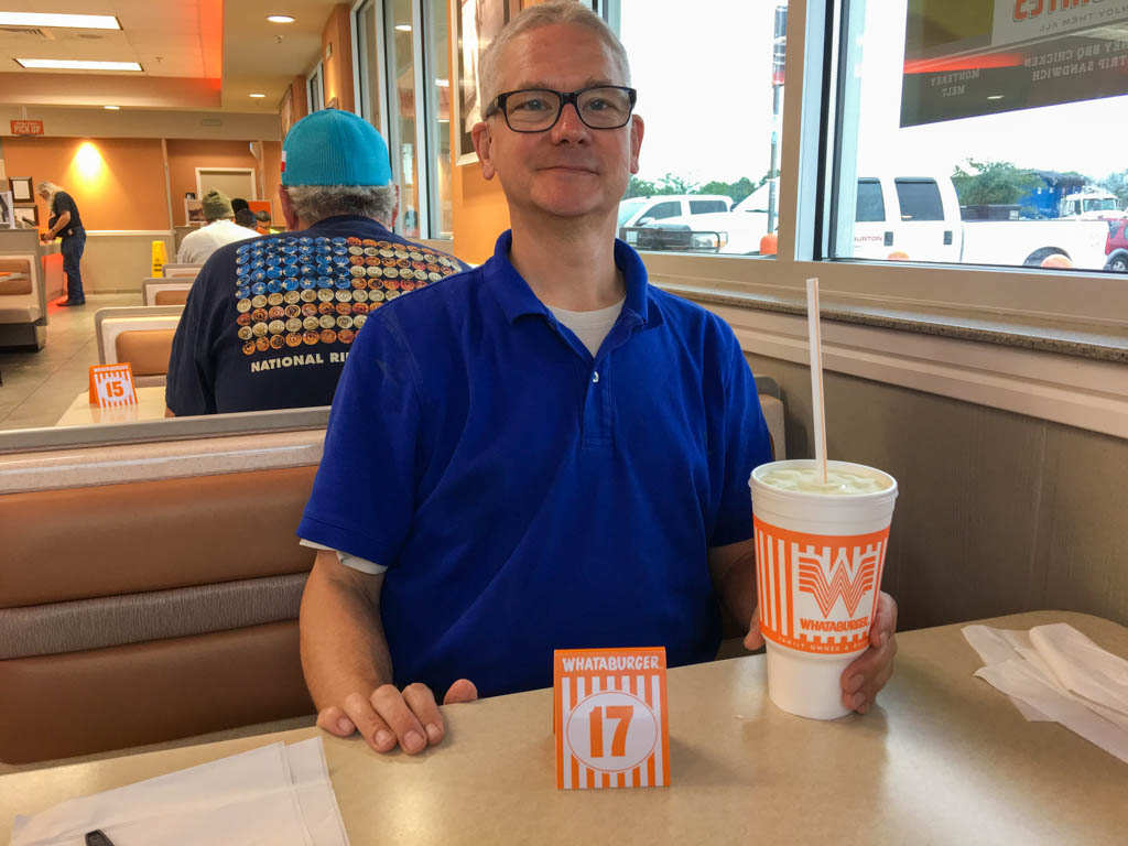 Waiting For Lunch At Whataburger