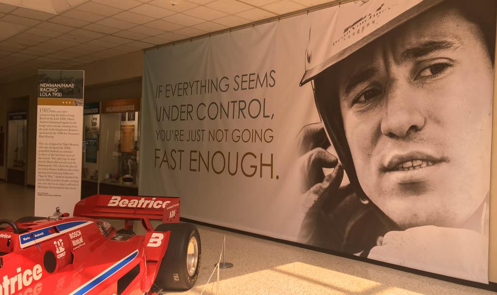 Mario Andretti Quote