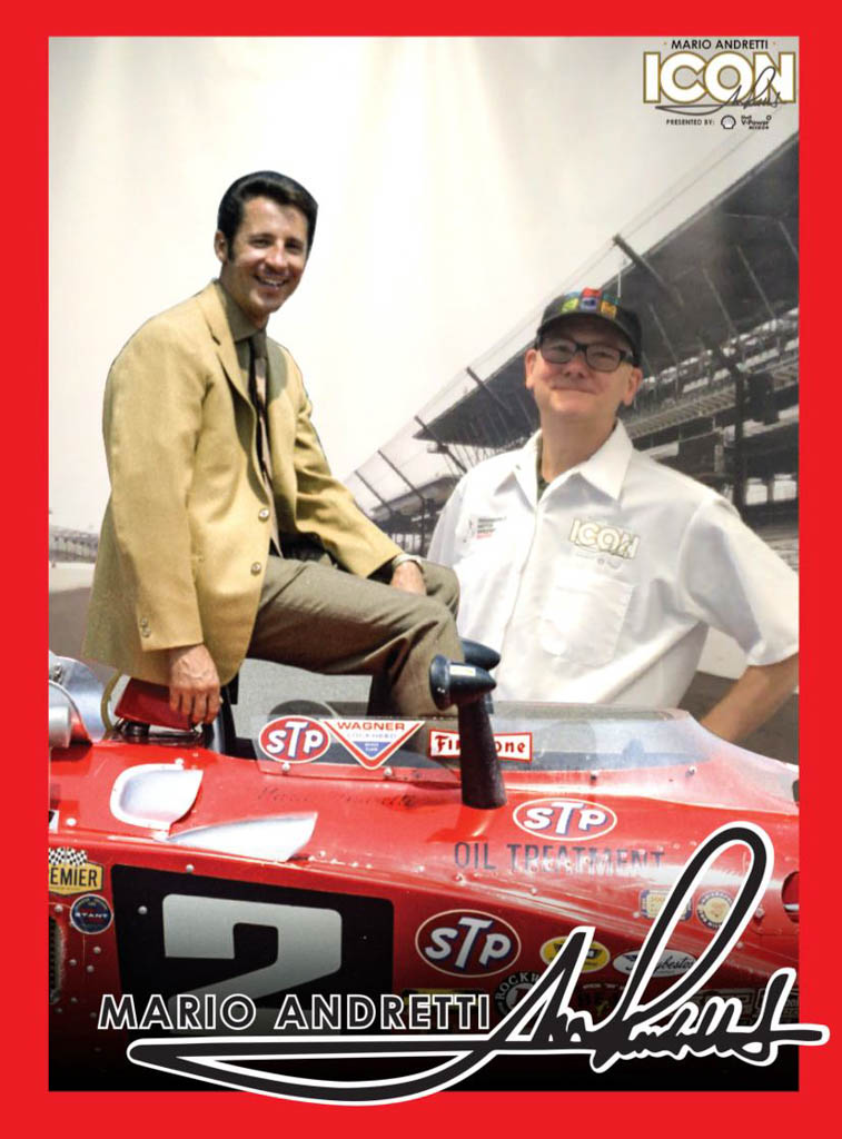 Autographed Picture Taken With Mario Andretti