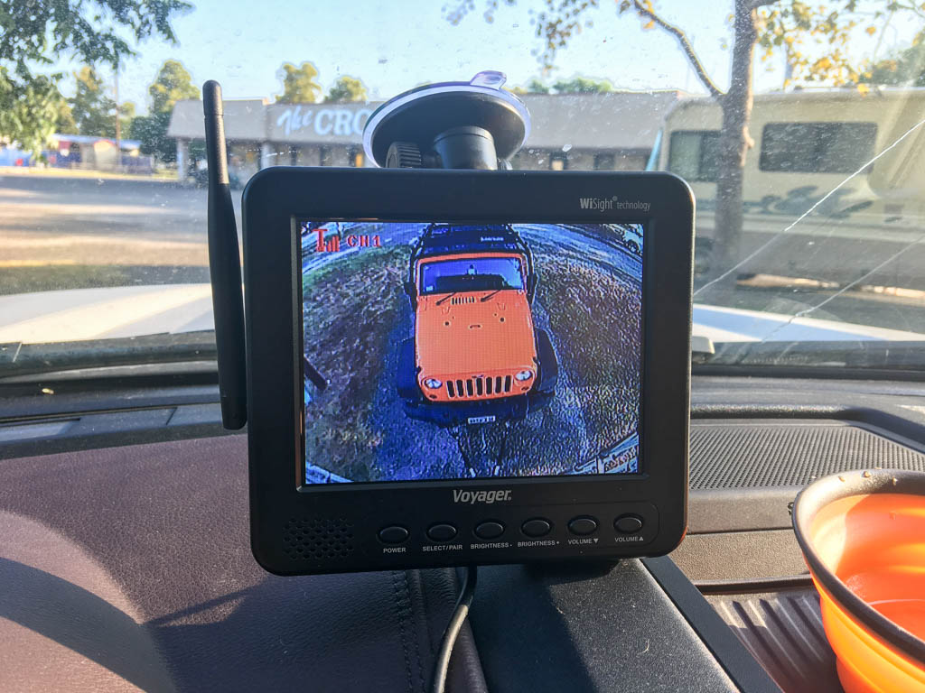Voyager Monitoring System (Backup Camera)