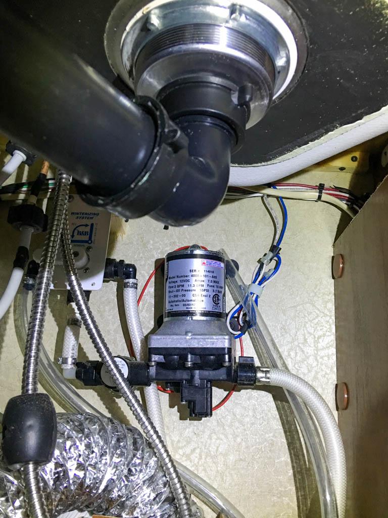 Better Water Pump Access