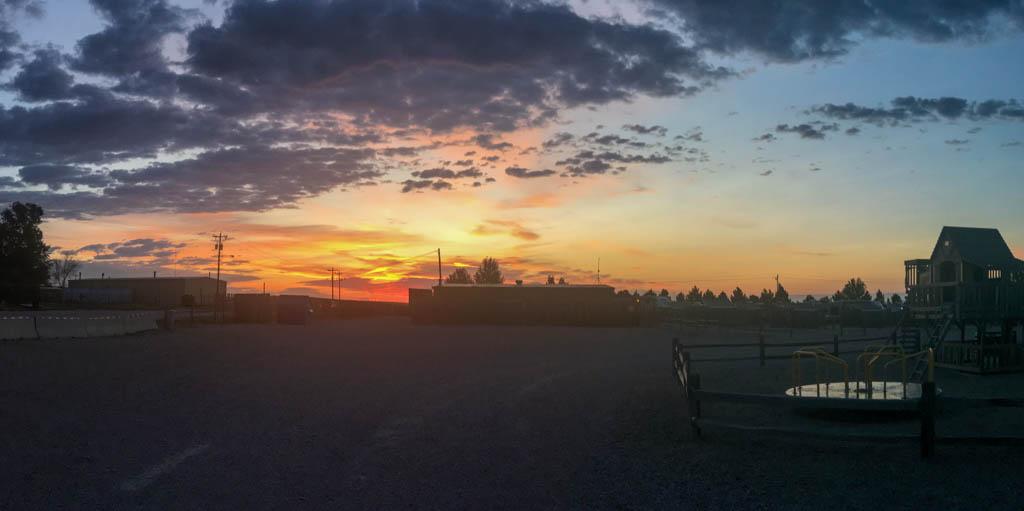 Morning After: Sunrise Over Dog Park