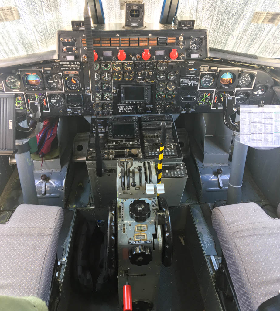 Smoke Jumper Airplane Cockpit