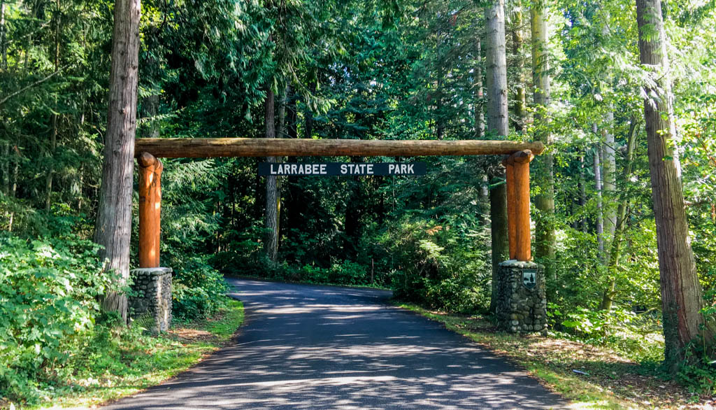 Larrabee State Park Day Use Area Entrance