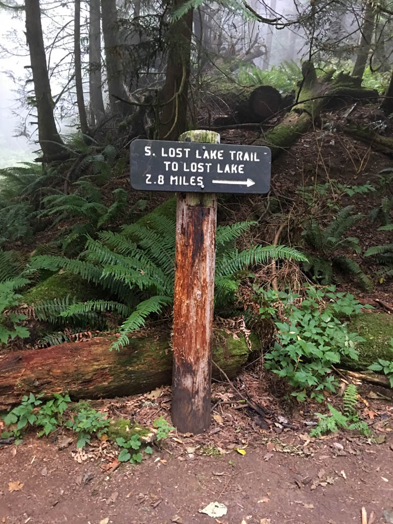 South Lost Lake Trail